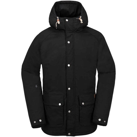 Volcom Wenson Winter Parka Jacket 2018 black pure board shop