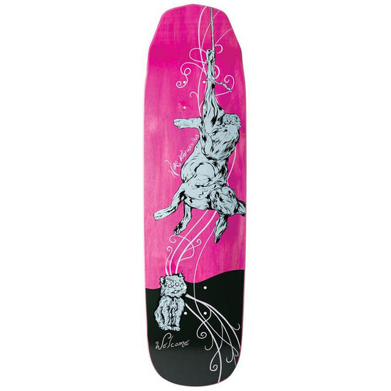 Welcome Fairly tale on Wicked Queen Skateboard Deck Pink Stain Nora  Vasconcellos Pro Model Skateboard Deck 305e59dea38