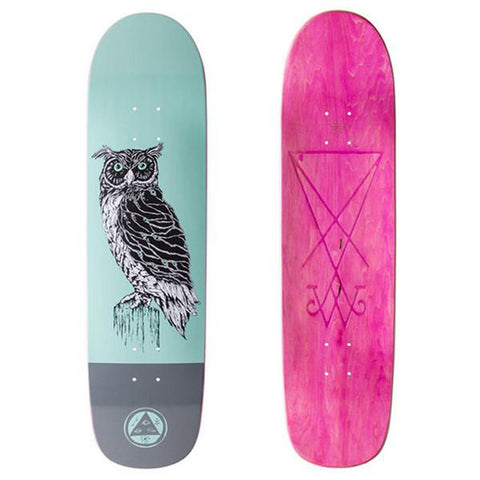 "Welcome Skateboards Black Beak on Son Of Planchette Deck Teal/Grey 8.375"" X 32.25"""