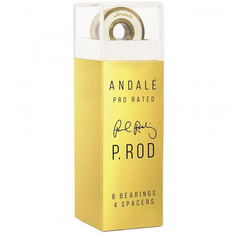 Andale P Rod Pro Rated Gold Bearings - Pure Boardshop