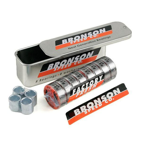 Bronson Speed Co G3 Skateboard Bearings - Pure Boardshop