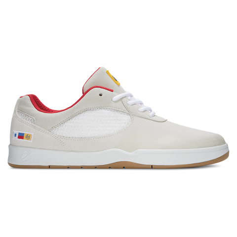 eS Swift Skate Shoes White/Red
