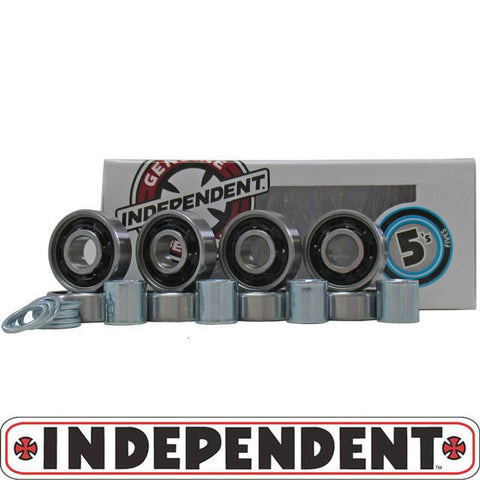 Independent Abec 5 Skateboard Bearings - Pure Boardshop