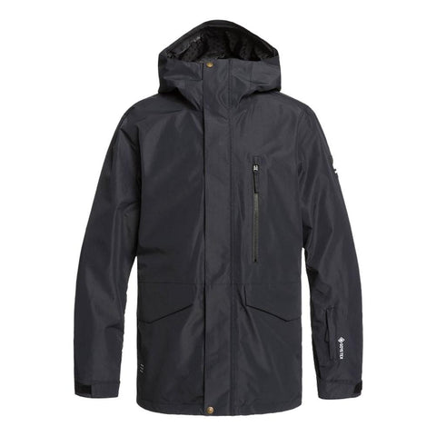 Quiksilver Mission 2L Gore-Tex Snow Jacket Black KVJ0 Pure Board Shop