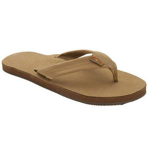 Rainbow Single Layer Premium Women's Sandal Sierra Brown - Pure Boardshop