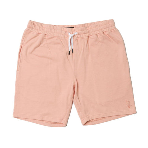 The Quiet Life Overdye Jogger Shorts Light Coral The Quiet Life Spring 2018 Drop 1 pure board shop