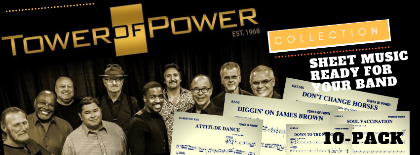 Tower of power sheet music pack