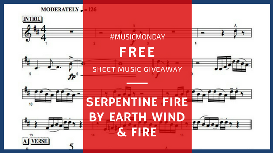 Free sheet music Serpentine Fire by Earth Wind and Fire