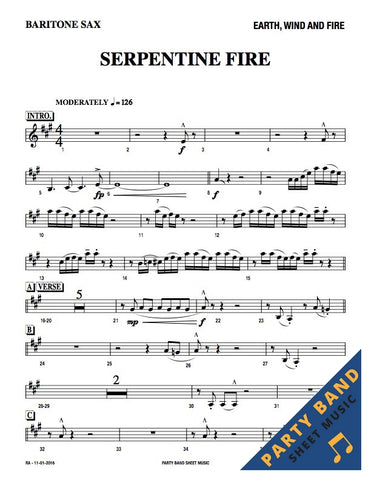 Serpentine Fire (Earth Wind & Fire) - Horn and Rhythm Parts