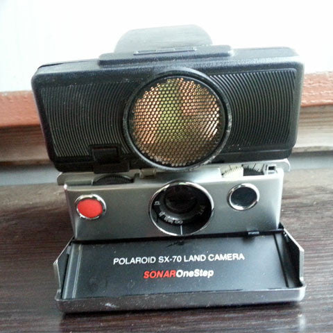 Polaroid SX-70 Land Camera (Sonar OneStep)