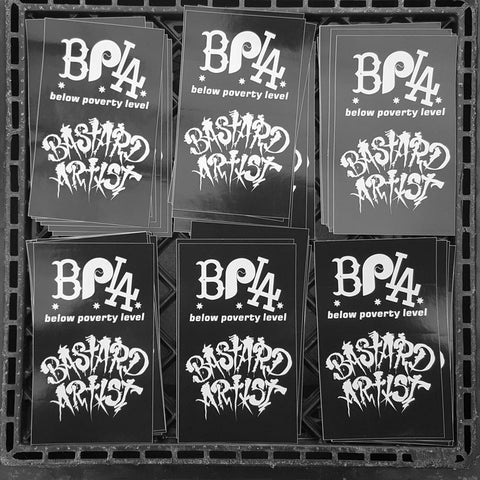 Stickers - BPLA x BASTARDARTIST (5 Pack)
