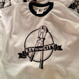Key to the City - Men's - Boltcutter - Ringer T-Shirt