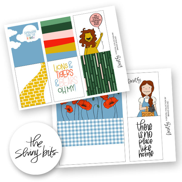 Dorothy Digital Journal Cards