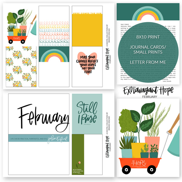 Extravagant Hope: February Digital Collection