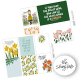 Mary Digital Journal Cards