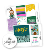 Matilda Digital Journal Cards