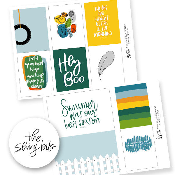 Scout Digital Journal Cards