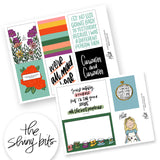 Alice Digital Journal Cards