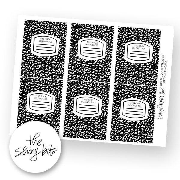 Baby-Sitters Club Digital Bookplates
