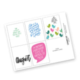 Extravagant Hope: August Digital Collection
