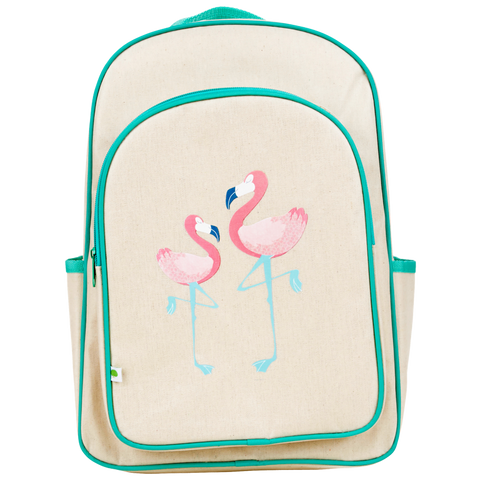 Flamingo Big Backpack