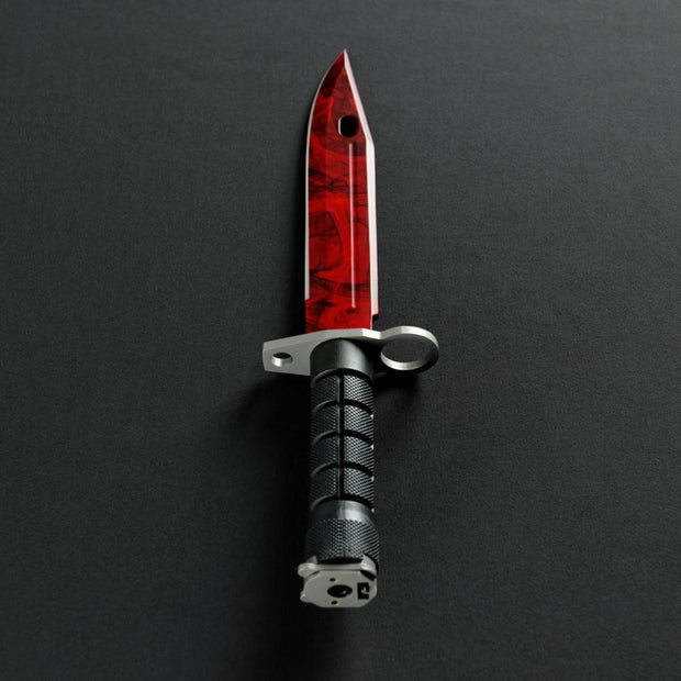 Ruby Bayonet-Real Video Game Knife Skins-Elemental Knives