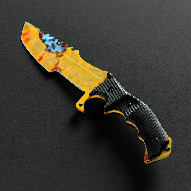 Case Hardened Huntsman Knife