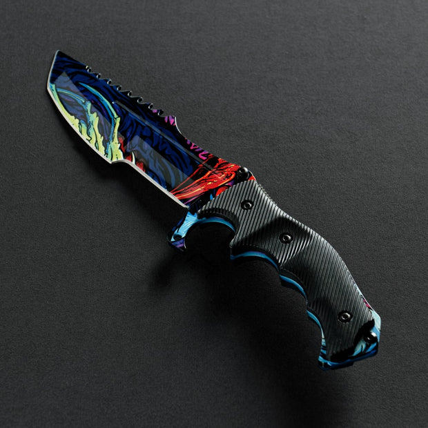Randomized Hyper Beast© Huntsman Knife-Real Video Game Knife Skins-Elemental Knives