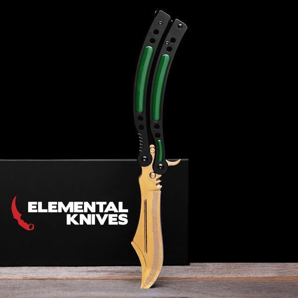 Lore Folding Butterfly Knife