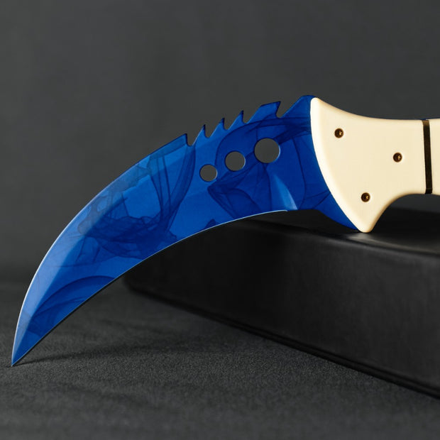 Sapphire Talon-Real Video Game Knife Skins-Elemental Knives