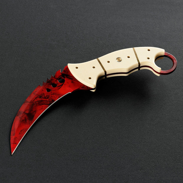 Ruby Talon-Real Video Game Knife Skins-Elemental Knives