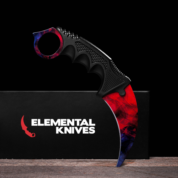 Doppler Phase 2 Karambit 1.0-Real Video Game Knife Skins-Elemental Knives