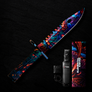 Hyper Beast Hydro M9 Bayonet-Real Video Game Knife Skins-Elemental Knives