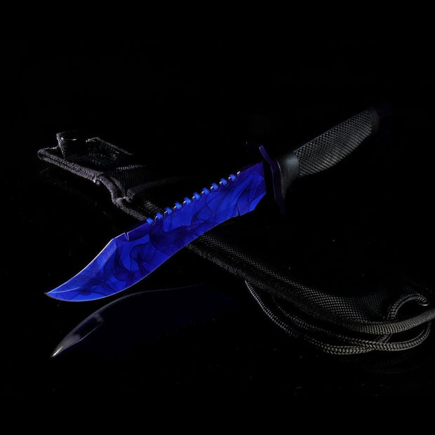 Sapphire Bowie Knife