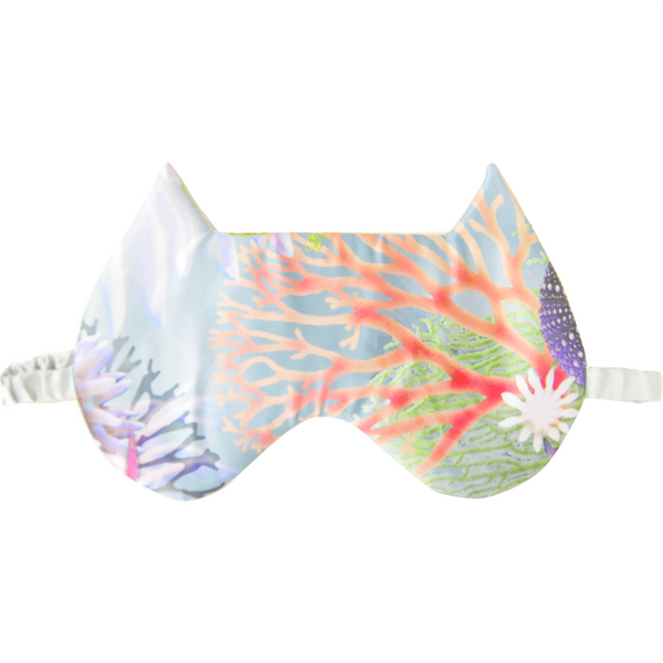 Ariel Cat Eye Mask | Silver Lining Lingerie