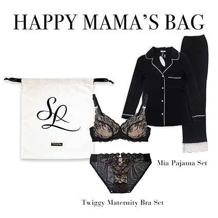 Happy Mama's Bag (Long Sleeve PJS) | Silver Lining Lingerie