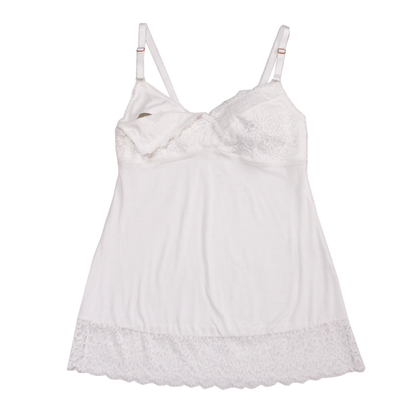 Jane Model Cotton Maternity Camisole | Silver Lining Lingerie