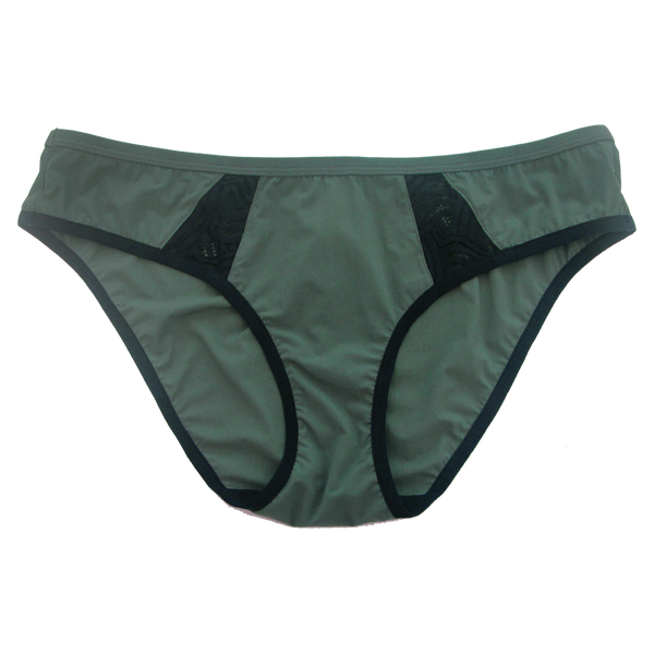 Jo Army Maternity Sports Brief | Silver Lining Lingerie