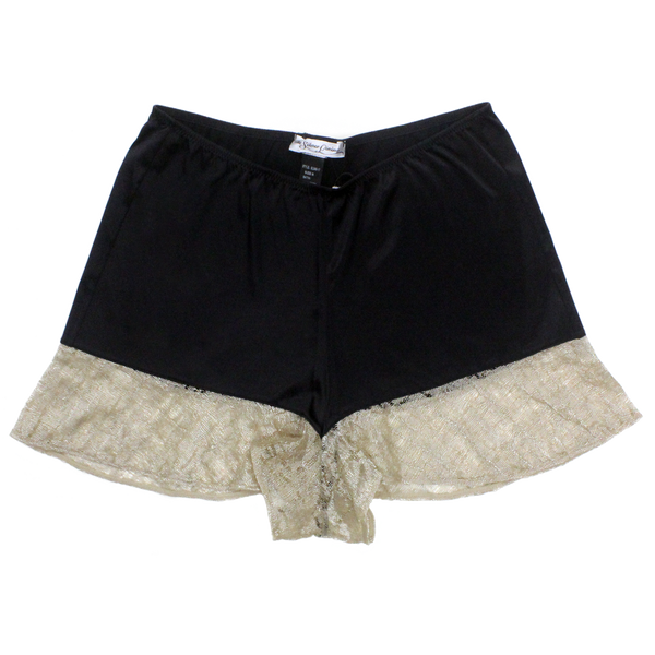 Kate Golden Lace Trim Shorts | Silver Lining Lingerie