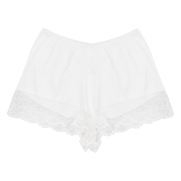 Kate Ivory Shorts | Silver Lining Lingerie