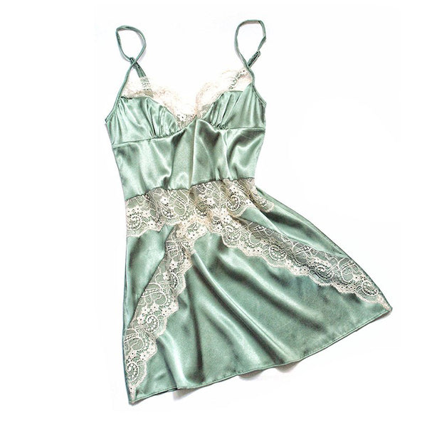 Kim Mint Chemise | Silver Lining Lingerie