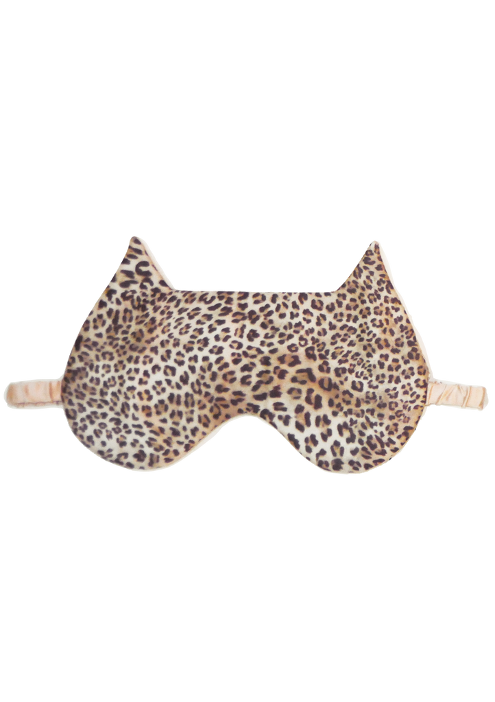 Cheetah Cat Eye Mask