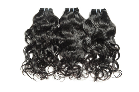 Indian Remy Natural Wave Hair - Tress Temple