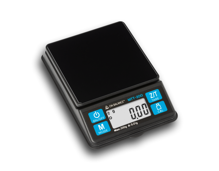 On Balance Mini Table Top Scale 200g x 0.01g
