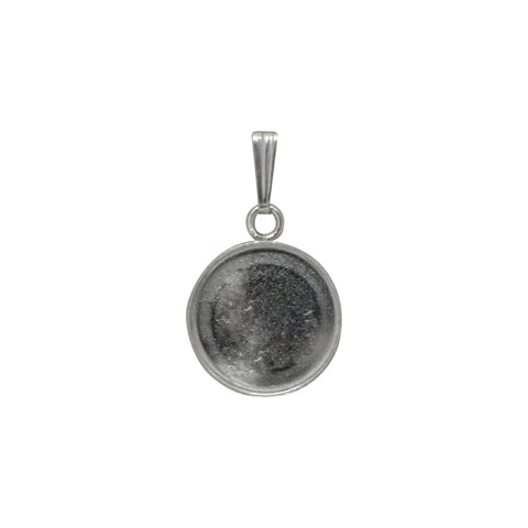 Bezel Cup with Tapered Bail - ROUND (Use Dropdown List to Select Size)