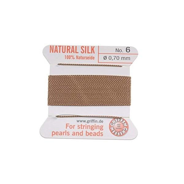 Adhesives & Stringing Supplies - Beige - Griffin Natural Silk: German Made