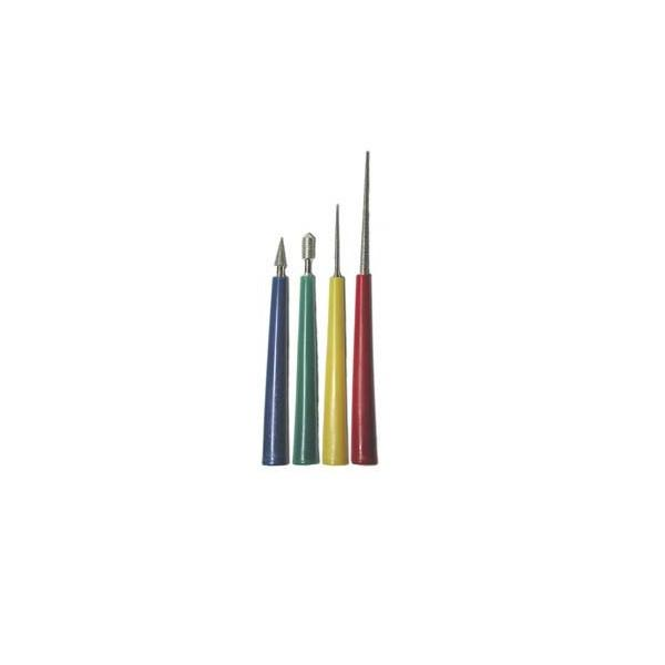 Adhesives & Stringing Supplies - Diamond Coated Bead Reamer Set