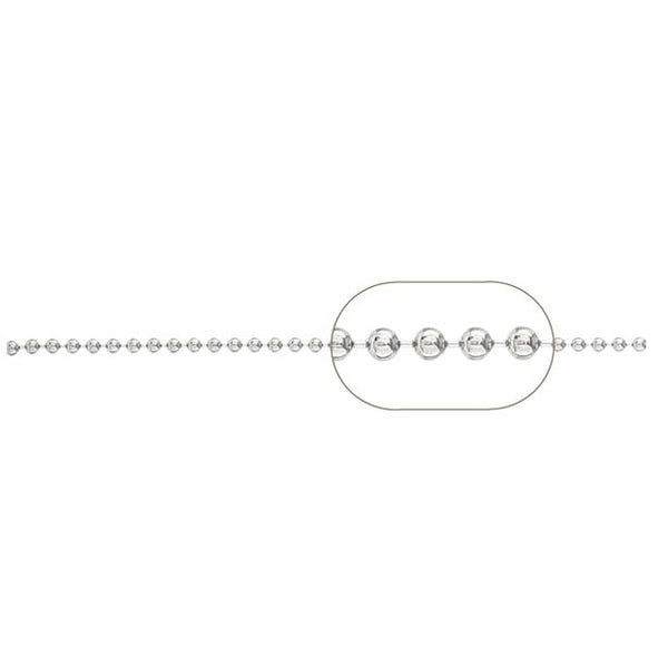 Ball Chain - (1.8mm diam) #BC18-068