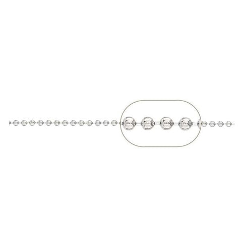 Ball Chain - (2.0mm diam) #BC20-0175