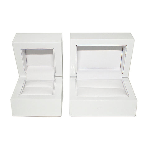 Wooden Boxes - White / White (Use Dropdown List to Select Type)